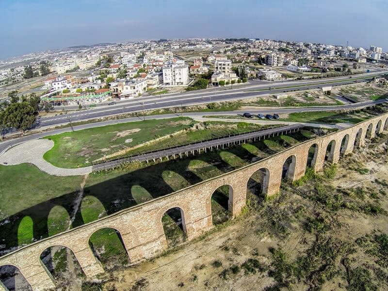 Roman Aqueduct , Larnaka, Cyprus